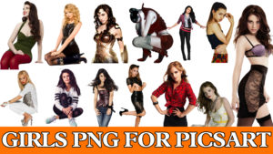 Girls Png For Picsart