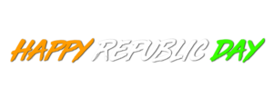 Republic Day Png text 2018