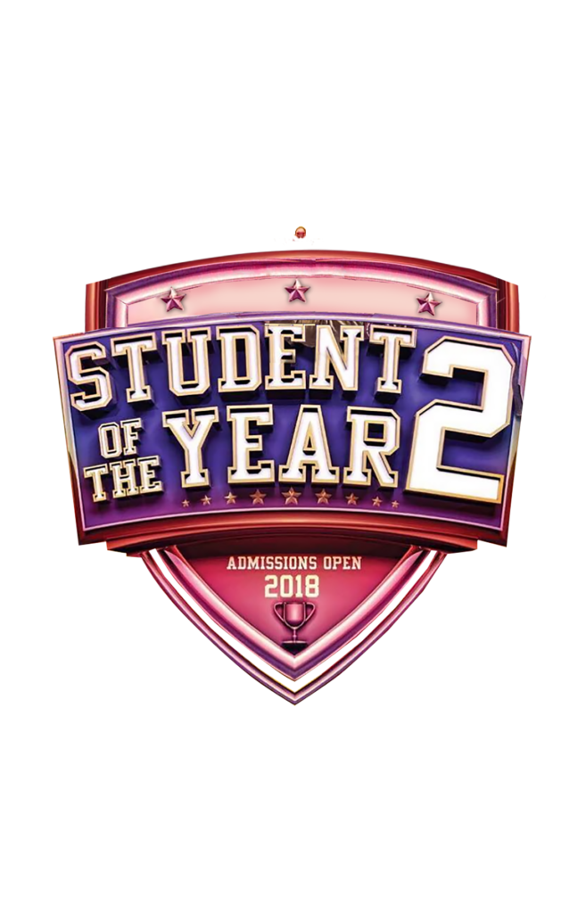 student of the year 2 text png