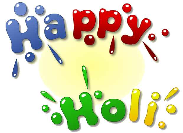 Holi Text Png