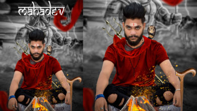 Shivratri photo editing