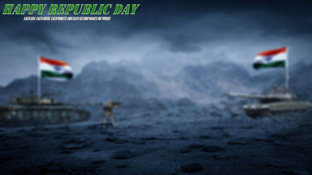 26 January background